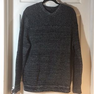 Banana Republic Black&White Pullover Sweater XL